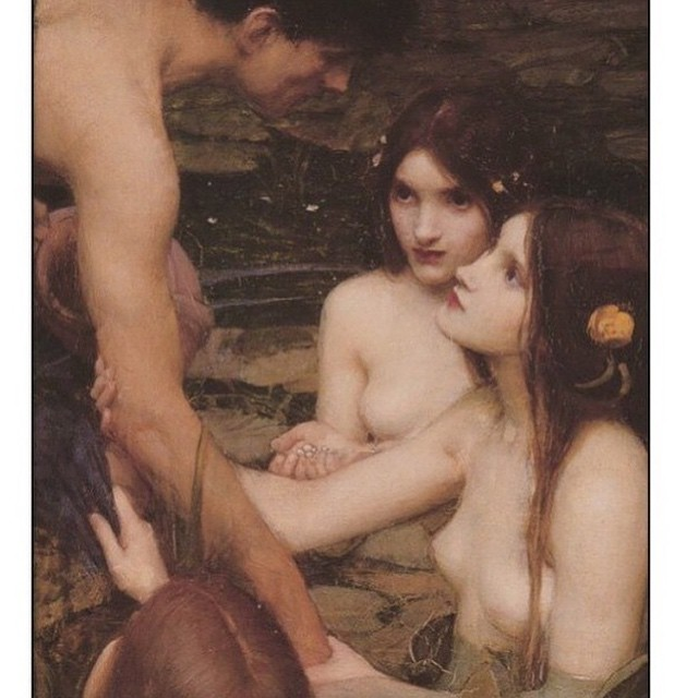 Perhaps your Sunday looks like this?  Art: Hylas and the Nymphs by John William Waterhouse. 1896.